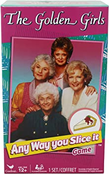 Cardinal The Golden Girls Any Way You Slice It Trivia Game