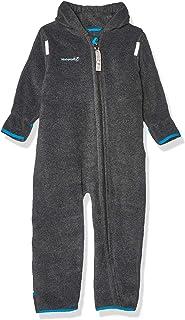 Hoppediz HOPPEDIZ Fleece-Overall für Baby und Kleinkind, anthrazit, 80-86
