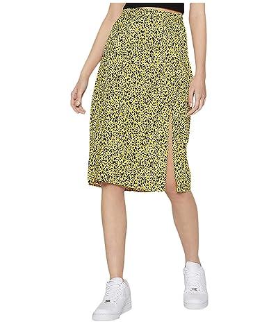 BCBGeneration Front Slit Woven Midi Skirt TSM3271501 (Multi) Women