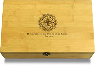 Angel of Love Inspirational Quote Wooden Jewelry Box