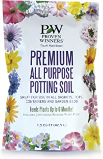 Proven Winners Premium All Purpose Potting Soil, 1.5 cu. ft. Bag