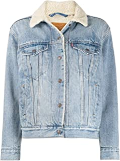 Levi's Luxury Fashion Womens 361370026 Light Blue Jacket   Fall Winter 19