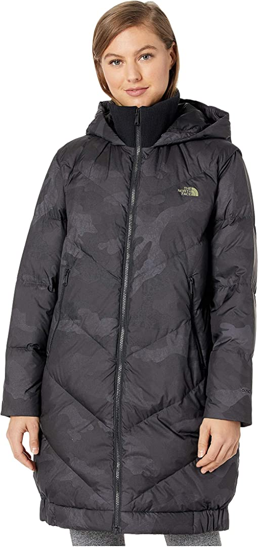 TNF Black Waxed Camo Print