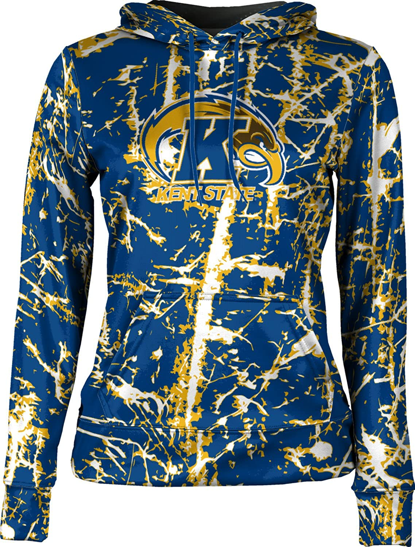 ProSphere Kent State University Girls' Pullover Hoodie, School Spirit Sweatshirt (Distressed)