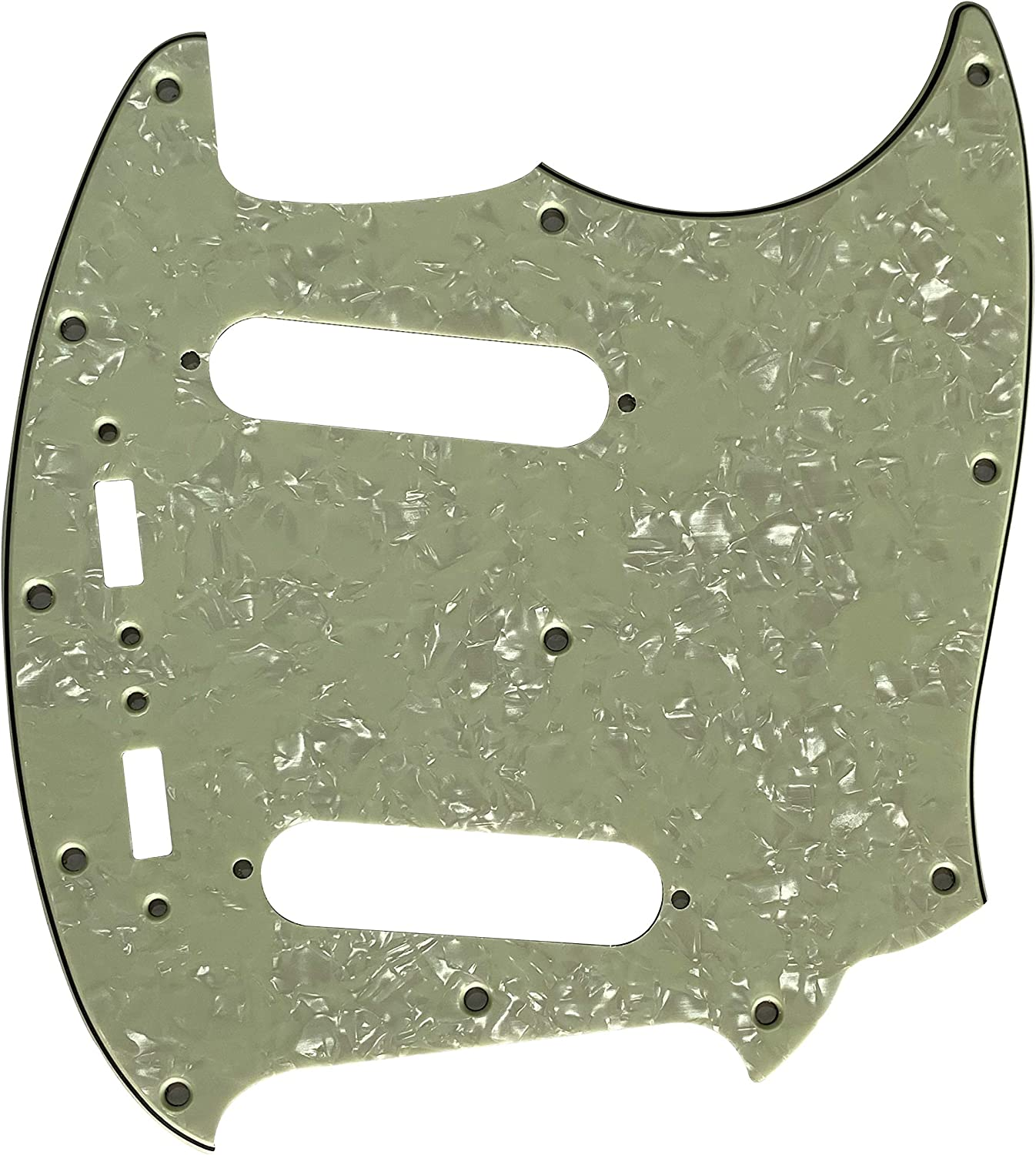 Fits US High material Superlatite Mustang Classic Series Style Ply Vin Guitar Pickguard 4