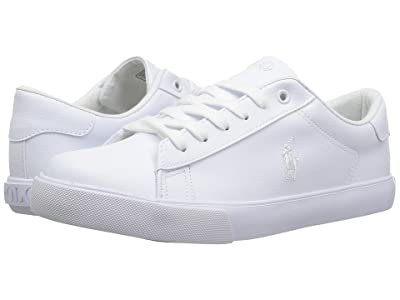 Polo Ralph Lauren Kids Easten (Big Kid) (Triple White Tumbled) Kid