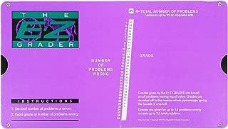 E-Z Grader Grading Calculator Teacher's Aid Scoring Chart (Purple) - 8-1/2