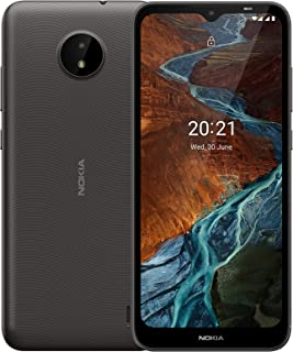 """Nokia C10 Android Smartphone,Dual Sim,1 GB RAM,32 GB Memory,6.51""""HD+ LCD with V-notch,Android 11,Face Unlock,Proximity Sen..."""