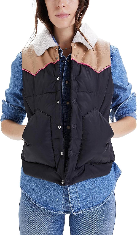 MOTHER Women's The Ol' West Puffer Vest