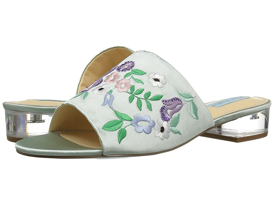 7753ea2c49171 Blue by Betsey Johnson Ryder (Mint Fabric) Women s Sandals