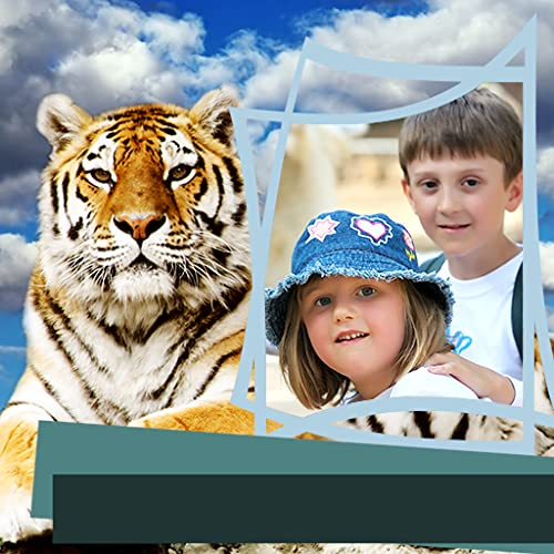 Zoo Tiere Bilderrahmen