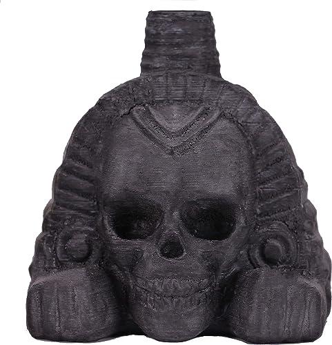 Screaming Aztec Death Whistle (Obsidian Black)