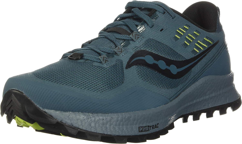 Saucony Xodus 10 Black, Zapatillas para Carreras de montaña Hombre
