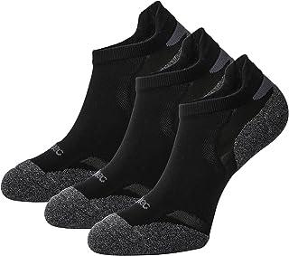 3 Pares Calcetines Deporte Running Hombres Mujer Unisexo de Deportivos Antiampollas Coolmax Cortos de Algodon