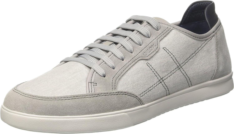 Geox Men's U Walee Sneaker, Lt Grey, 46 EU 13 M US