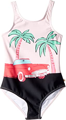 Kate Spade New York Kids - Road Trip One-Piece (Big Kids)