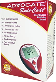 Advocate Redi-Code Plus Non-Speaking Blood Glucose Meter