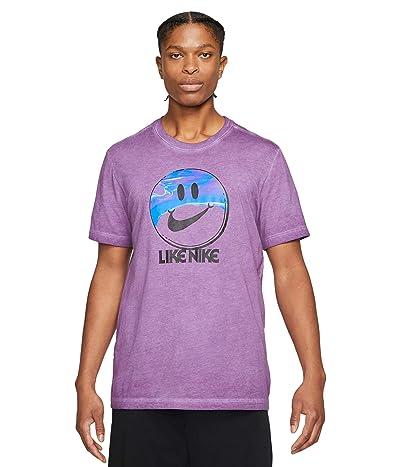 Nike Big Tall NSW Tee Spring Break Like Dye (Viotech) Men