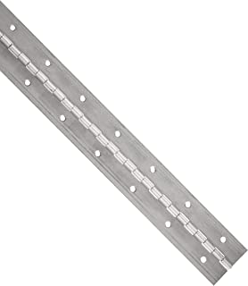 Aluminum 3003 Continuous Hinge with Holes, Unfinished, 0.06