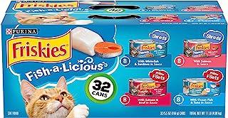 Purina Friskies Fish A Licious Variety Pack - 32x5.5 oz (050000294527)