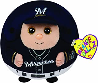 TY Beanie Ballz MLB Milwaukee Brewers Plush