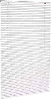 AmazonBasics - Persiana veneciana de aluminio 80 x 130 cm Blanco