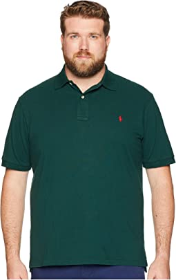 Big & Tall Basic Mesh Short Sleeve Classic Fit Polo