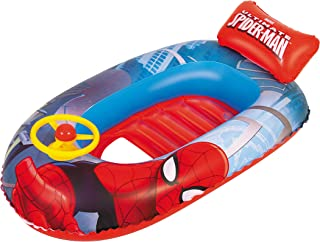 Bestway 98009 Spiderman Baby Boat - Multi Color