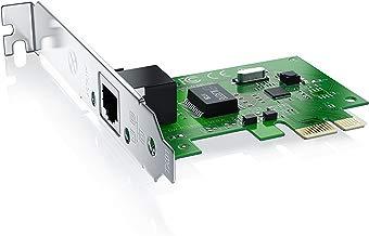 CSL - Tarjeta de Red Gigabit PCIe PCI-E PCI Express - 10000 Mbit s 2000 Mbit dúplex Completo - LAN Fast Ethernet