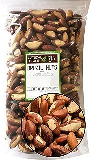 Health 4 Life - Bolsa resellable para tuercas de Brasil, 1 kg