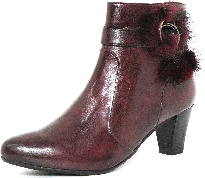 Gerry Weber kvinnor Ankle stövlar stövlar stövlar röd, (Bordo) G39238MI90  410  70% rabatt