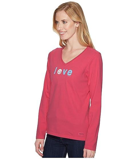 is Love Life manga larga de Trituradora Good Pink Vee Smiley Fiesta g4dwdtx