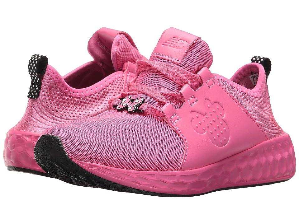 New Balance Kids KJCRZv1P Minnie Rocks the Dots (Little Kid) (Pink/Black) Girls Shoes