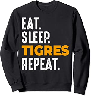 Tigres Gift Eat Sleep Repeat Soccer Football Mexico Sweatshirt