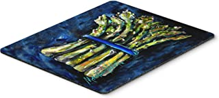 Caroline's Treasures Asparagus Blew Mouse Pad, Hot Pad or Trivet, Multicolor (MW1218MP)