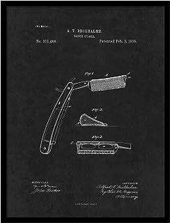 ماكينة الحلاقة PATENT150033BK-79BK 1885، مقاس 17.78 سم × 22.86 سم من سبوت كولور ارت