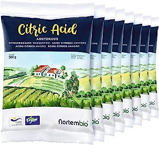 comprar comparacion Nortembio Ácido Cítrico 4 Kg (8x500g). Polvo Anhidro, 100% Puro. para Producción Ecológica. E-Book Incluido.