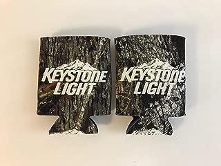 Keystone Light - Real Tree Camo - Beer Can Cooler - 2 Pk