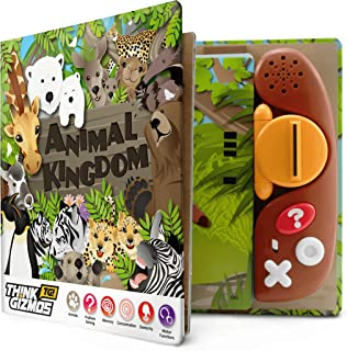 Animal Habitat TG703 - Educational Talking Sound Toy Childrens Book - Learn About Animals - Toy Quiz Games Book for Kids Ages 3 4 5 6 7 8