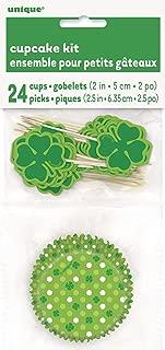 Shamrock Saint Patrick's Day Cupcake Kit for 24