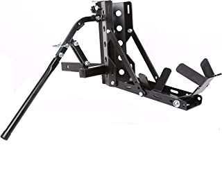 Portable Motorcycle Trailer Carrier Tow Dolly Hauler Rack Hitch 800LBS
