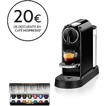 Nespresso DeLonghi Citiz EN167.B - Cafetera monodosis de cápsulas ...