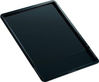 Zenker 6537 Plaque de cuisson extensible, plaque à four universelle, plaque à pâtisserie, Téflon, Noir, 37 x 33 x 1,5 cm /...