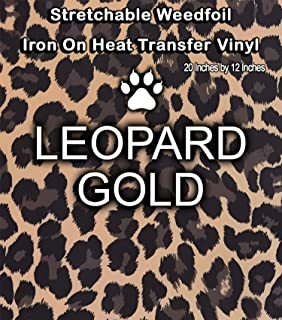 Stretchable WeedFoil Iron On Heat Transfer Vinyl 20