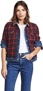 Blank Denim Women's Reversible Flannel Denim Jacket