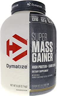 Dymatize Super Mass Gainer, Cookies and Cream, 6 Pound