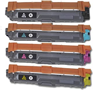 ADE Products Compatible Replacement Brother TN225 TN221 Toner Set, TN221BK TN225C TN225Y TN225M Brother DCP-9020CDN HL-3140CW HL-3150CDN HL-3170CDW MFC-9130CW MFC-9330CDW MFC-9340CDW Printers