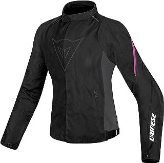 Dainese Women's Laguna Seca D1 D-Dry Black/Fushia Jacket 2654594-I57-46