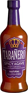 Tabañero Agave Sweet & Spicy Hot Sauce, Gluten Free, 8oz. Bottle