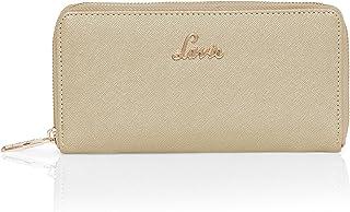 Lavie Womens Large Zip Around Wallet (Gold)